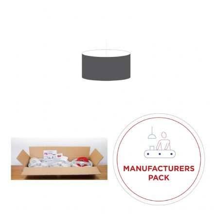 30cm Manufacturers Pack -  30 Drum Double-Sided  Lampshades